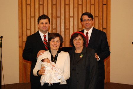 Serviciu divin de Binecuvantare Rebecca Anne Filip