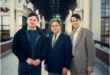 Petrică Lascău, Ioan Rusu și Daniel Branzai