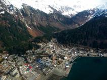 Alaska Juneau on a sunny day