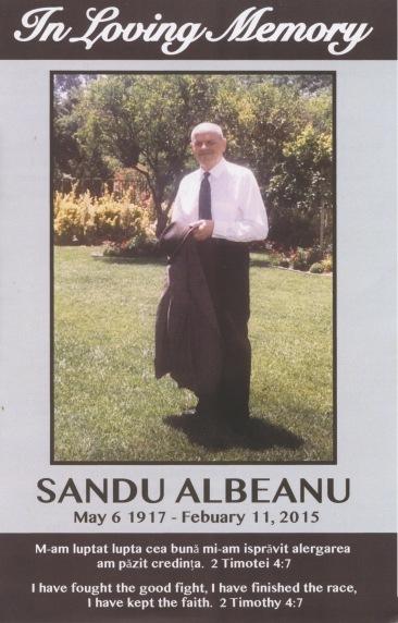 sandu Albeanu 1
