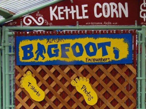 Alaska bigfoot Ketchikan