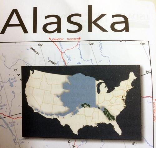 Alaska USA maps