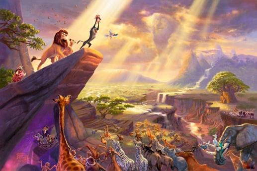 Kincade Disney Dreams Collection VII The Lion King