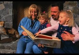 Thomas Kinkade and Family
