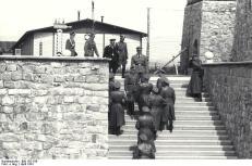KZ Mauthausen, Begrüßung Himmlers durch Ziereis